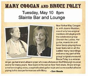 Mary Coogan & Bruce Foley at Slainte - MurphGuide: NYC Bar ...