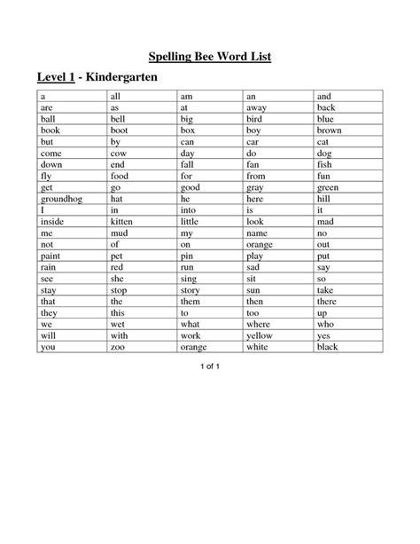 6 Best Images Of Levels 1 Sight Word Printables  Edmark Level 1 Sight Words List, 1 Grade Sight