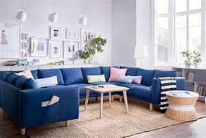Canapé Chez Ikea : canap bleu les meilleurs mod les pour habiller votre salon ~ Teatrodelosmanantiales.com Idées de Décoration