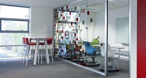 bureau vitre cloisons de bureaux vitrée pleine semi pleine avec