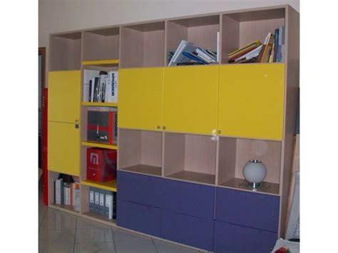 libreria doimo libreria e scrivania doimo city line sottocosto