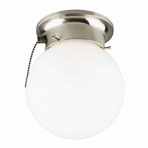 Westinghouse light brushed nickel interior ceiling