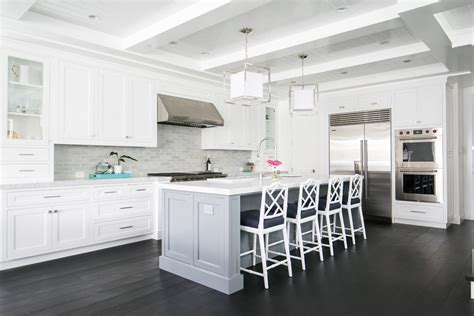 Awesome White Cabinet Amazing Ideas Kitchen Beach Style