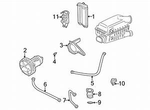 06a131127m - Secondary Air Injection Pump Hose  Liter  System  Emission