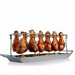 Chicken Wings Kaufen : rawford h hnchenschenkel halter mit platz f r 12 keulen f r perfekt gegrillte chicken wings ~ Orissabook.com Haus und Dekorationen