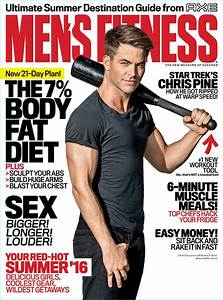 Chris Pine Covers Men's Fitness, Praises Clubbell Workout ...