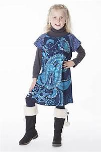 Robe Boheme Fille : robe boh me pour petite fille pas ch re bleu ~ Melissatoandfro.com Idées de Décoration