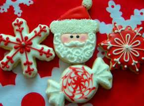 occasional cookies red and white christmas cookies