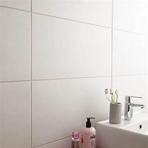 Carrelages Salle De Bain : carrelage sol et mur blanc eiffel x cm ~ Melissatoandfro.com Idées de Décoration
