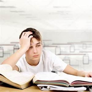 Sad Student — Stock Photo © sabphoto #45369845
