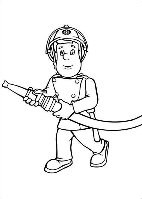 Brandweerman Sam Kleurplaat Titan by Kleurplaat Brandweerman Sam N Brandweer