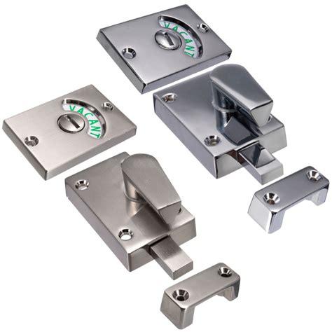 Vacant Occupied Bathroom Locks Nickel Drawing Chroming Bathroom Toilet Door Lock Indicate