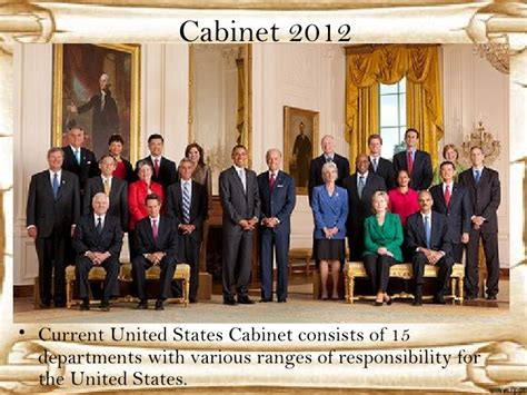 United States Cabinet by 8th Ss 1st Four Prezies And Pol