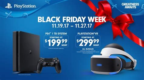 playstation s black friday 2017 deals 200 ps4 ps vr