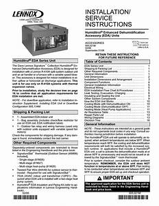 Lennox International Inc  21 User U0026 39 S Manual