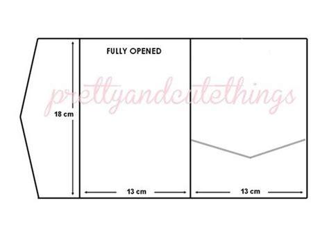 diy pocketfold wedding invitations template best