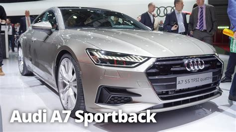 First Look 2019 Audi A7 Sportback At Geneva Motor Show