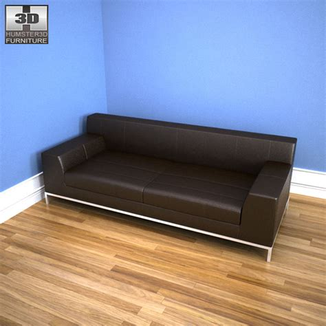 Kramfors Sofa Cover 3 Seat by Ikea Kramfors Three Seat Sofa 3d Model Humster3d