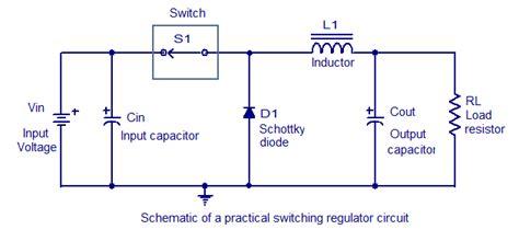 Few Switching Regulator Circuits Circuit Diagram World