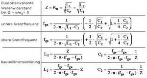 Bandpass Gehäuse Berechnen : filterschaltungen mit beispielen passiver elektrischer filter mit unterschiedlicher kopplung ~ Themetempest.com Abrechnung