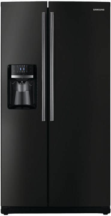 Samsung Rs261mdbp 26 Cu Ft Side By Side Refrigerator