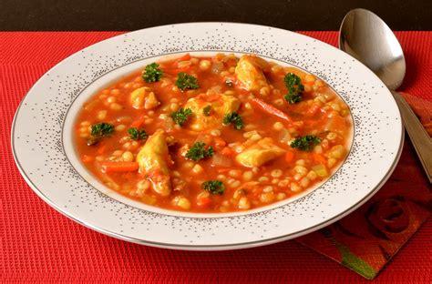 orge recettes cuisine soupe de légumes et d 39 orge mondé au poulet ma cuisine santé