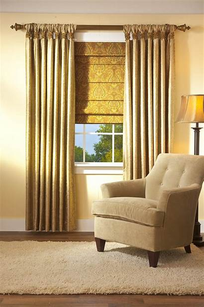 Tab Roman Gathered Window Drapery Shades Shade