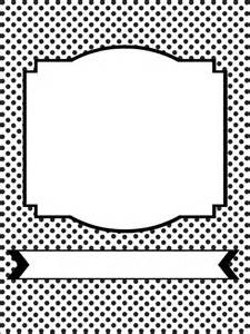 Free Printable Planner Cover Page Black and White