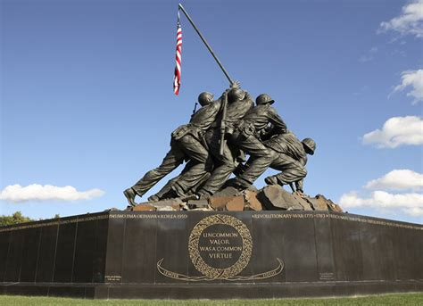 memorial ww2 war washington memorials dc marines ii