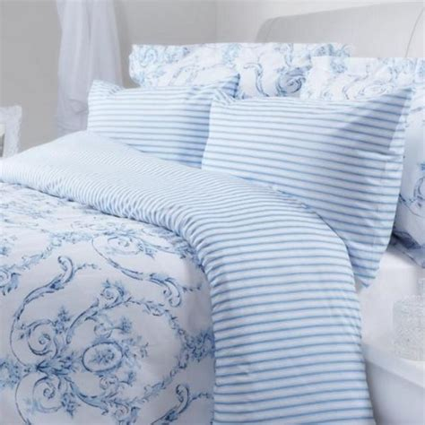 Blue And White Duvet Cover by Elizabeth Blue Duvet Covers Pillowcases And Curtains