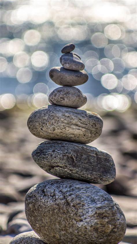 rock balance stone iphone wallpaper idrop news