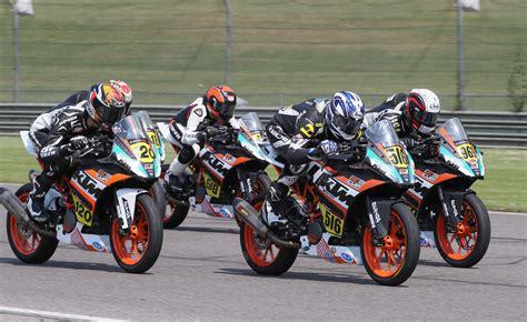 Ktm Announces Contingency Program For 18 Different Racing