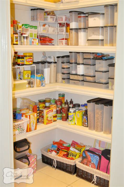 Organising Pantry  The Organised Housewife