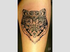 Tatouage Tete De Tigre Geometrique Tattoo Art