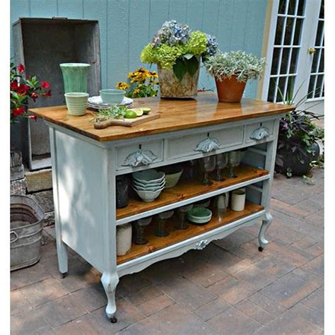 kitchen island buffet fabulous diy farmhouse kitchen islands the cottage