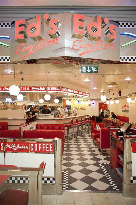 1950's burger diners | All-American menu at Ed's Diner in ...