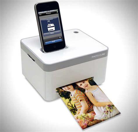 iphone photo cube printer photo cube printer for apple iphone hiconsumption