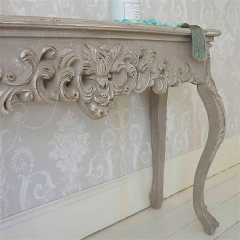 console table shabby chic grace shabby chic console table french bedroom company