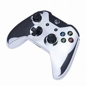 Xbox One Wireless Custom Controller Chrome Silver Games