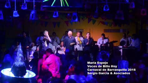 Voces de Billo Hoy Maria Espejo YouTube