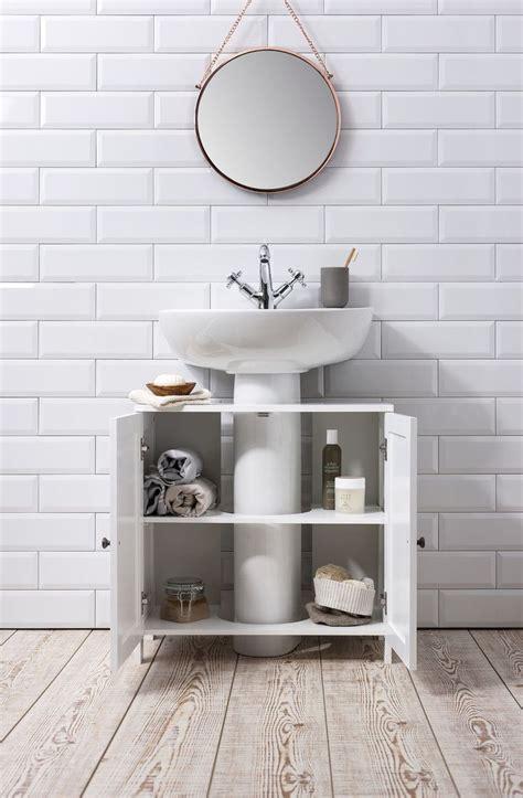 details  bathroom sink cabinet undersink  white