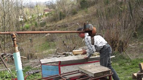 fendeuse a bois manuelle fendeuse bois manuelle feraille manuel log splitter made from iron