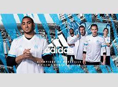 Les maillots de l'Olympique de Marseille pour la saison