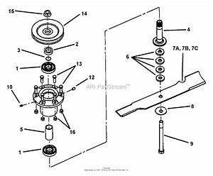 Snapper Splh140kw  84336  14 Hp Pro Hydro Loop Handle Mid Size Series 0 Parts Diagram For Cutter
