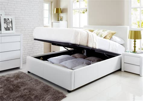 white size bed with storage henley white leather ottoman storage bed storage beds beds 20980