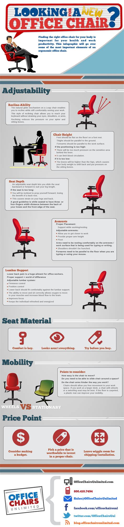 what to look for in an ergonomic office chair lifehacker