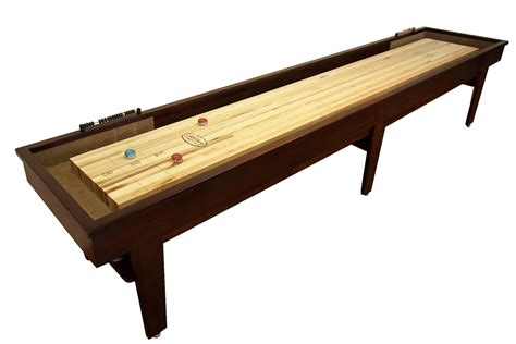 16 Foot Patriot Shuffleboard Table Mcclure Tables