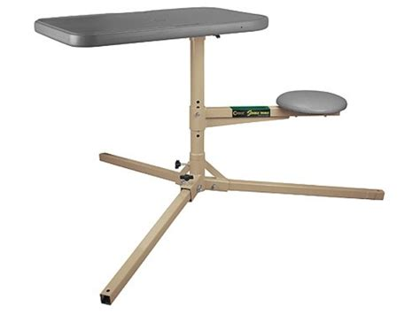 portable shooting bench caldwell stable table portable shooting bench