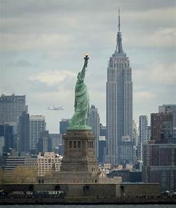 Space Shuttle Enterprise Flying Over the City of Big Apple ...