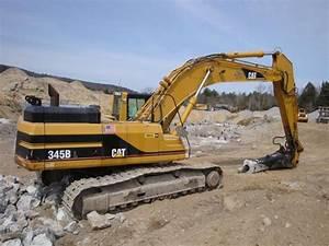 Caterpillar 345b Excavator Hydraulic System Interactive
